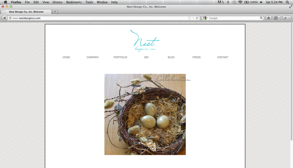 Nest Design Co., Inc. Homepage